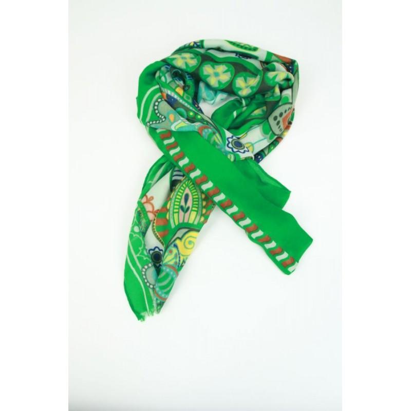 Sjaal met Keltische kringen