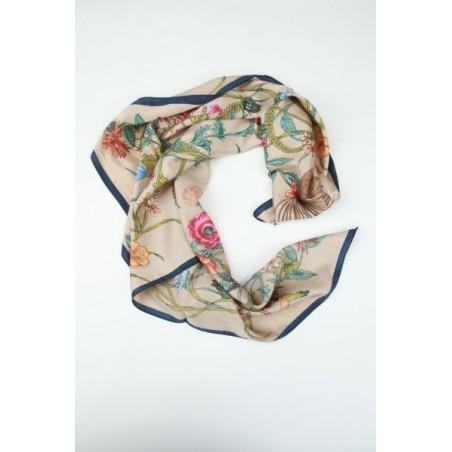Sjaal met print van bloemen