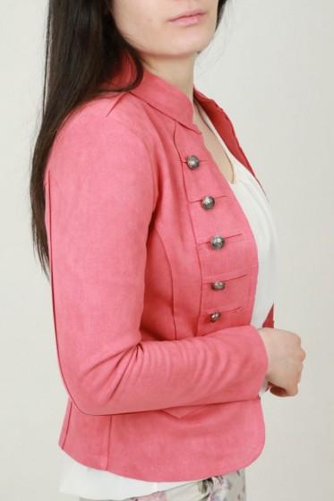 Zijde blouse met V-hals
