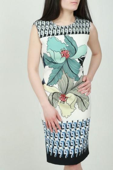 Lurex blouse met lavalière