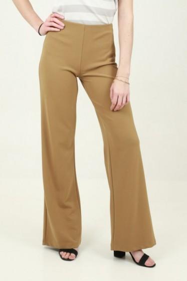 Pantalon viscose hoge taille